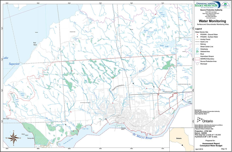 Maps Sault Ste Marie Region Conservation Authority Ssmrca