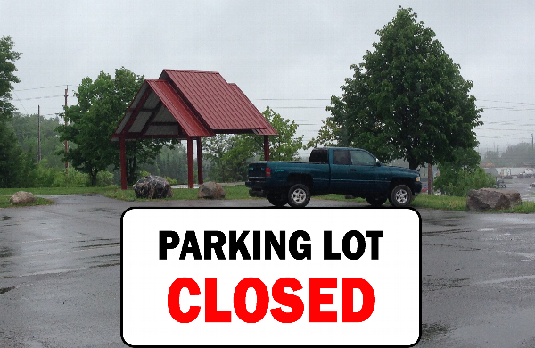 Fort Creek Parking Closed